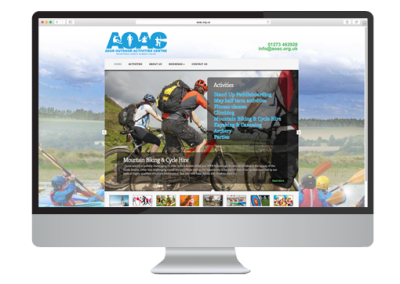 The AOAC Website Design
