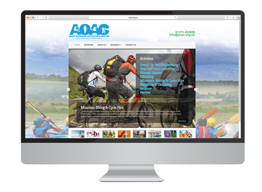 Web Design project for the AOAC