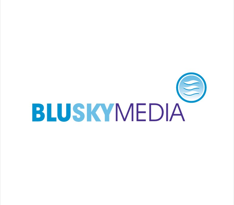 Blue Sky Media Logo Design