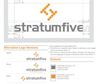 StratumFive Logo Design & Branding