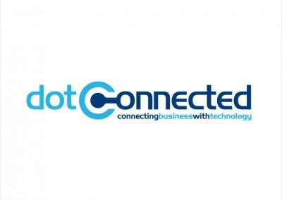 Dot Connected Logo Design