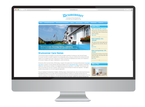Wordpress Web Design project for Drumconner