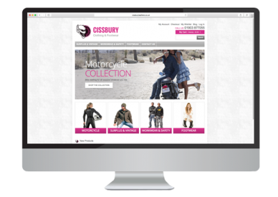 Cissbury Leathers E-commerce Website