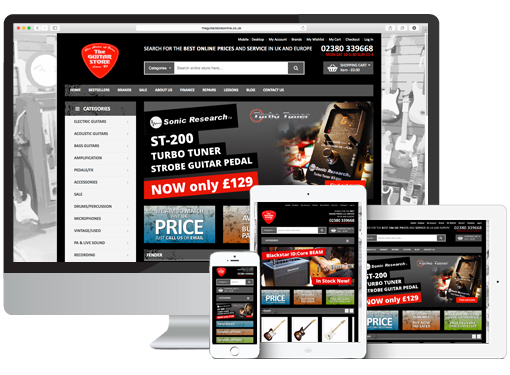 Magento E-commerce Project