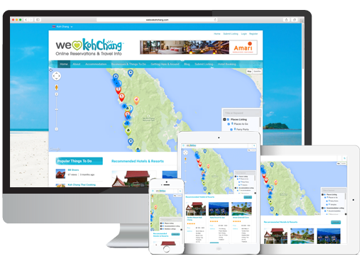 We Love Koh Chang, Directory Website