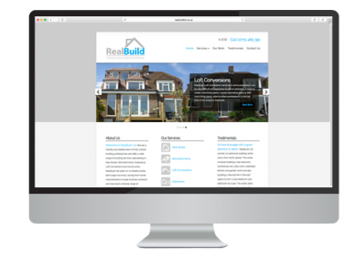 Realbuild Website Design