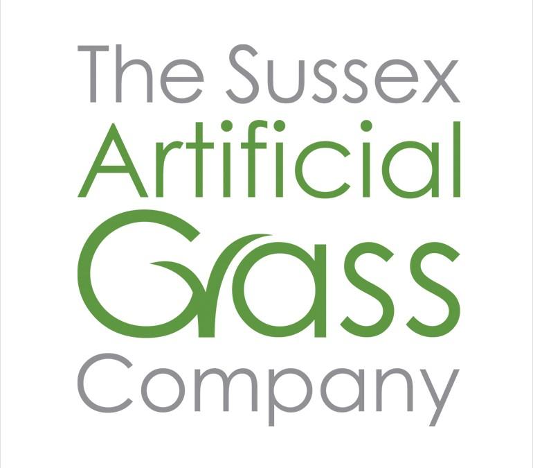 Sussex Artificial Grass Logo Design