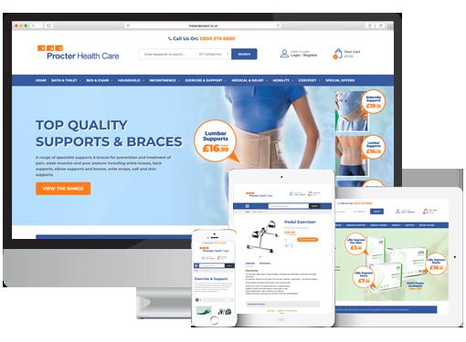 Procter Healthcare Magento 2 E-Commerce