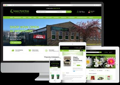 Sussex Pond Shop Magento 2 E-Commerce